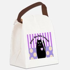 Oma you are loved 1 Canvas Lunch Bag