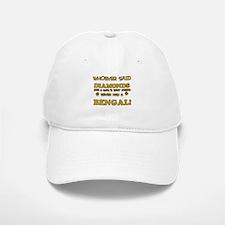 Bengal cat vector designs Baseball Baseball Cap