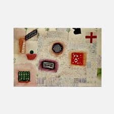 Paul Klee: Place Signs Rectangle Magnet