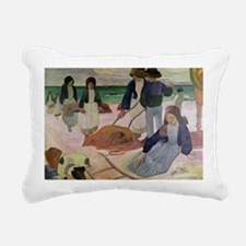 9 @oil on canvasA - Rectangular Canvas Pillow