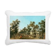 Grand Walk, c.1751 - Rectangular Canvas Pillow