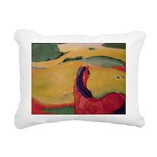 1910 @oil on canvasA - Rectangular Canvas Pillow