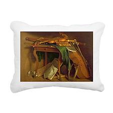 c.1760 @oil on canvasA - Rectangular Canvas Pillow