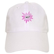 Coach Mom Pink Baseball Cap