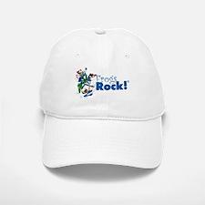 Frogs Rock! Stuff Baseball Baseball Cap
