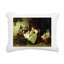 on canvasA - Rectangular Canvas Pillow