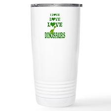 Love Love Dinosaurs Travel Mug