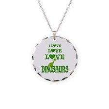Love Love Dinosaurs Necklace
