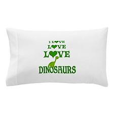 Love Love Dinosaurs Pillow Case
