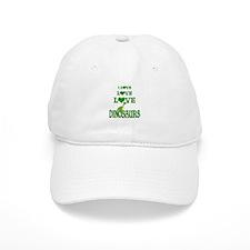 Love Love Dinosaurs Baseball Cap