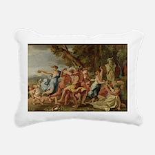 m, c.1634 - Rectangular Canvas Pillow