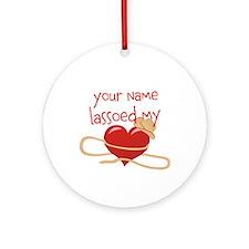 Lasso My Heart Ornament (Round)