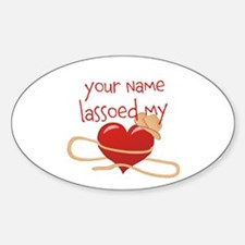 Lasso My Heart Decal
