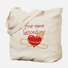 Lasso My Heart Tote Bag