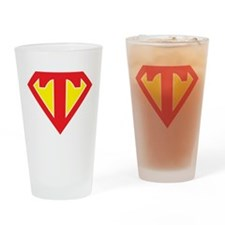 Super T Drinking Glass