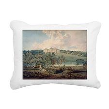 e South @w/c on paperA - Rectangular Canvas Pillow
