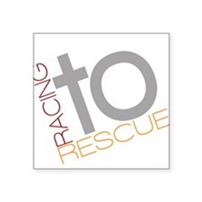 Racing To Rescue Logo Sticker