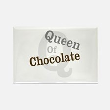 Queen of Chocolate Rectangle Magnet