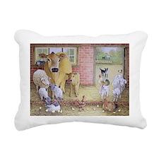 anvasA - Rectangular Canvas Pillow