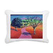 dA - Rectangular Canvas Pillow