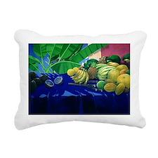 Tropical Fruit - Rectangular Canvas Pillow