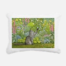 rylic on panelA - Rectangular Canvas Pillow