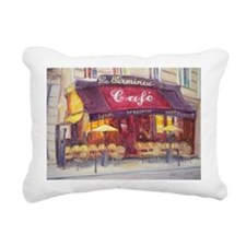 @oil on canvasA - Rectangular Canvas Pillow