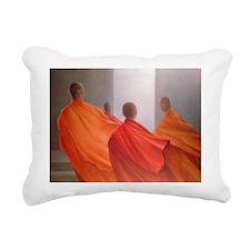 teps @oil on canvasA - Rectangular Canvas Pillow