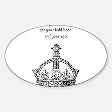 Ego Crown Keep Calm Decal