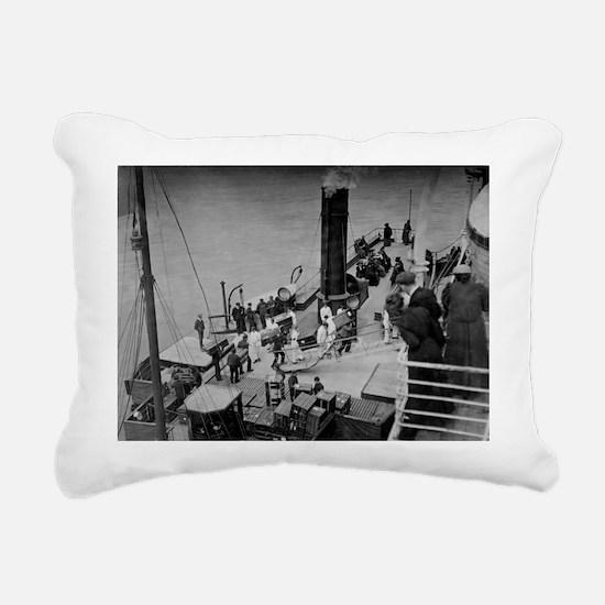 oard the Titanic, 11th April 1912 - Rectangular Ca