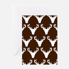 'White Stag' Greeting Card