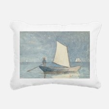 w/c - Rectangular Canvas Pillow