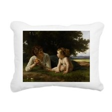 Temptation, 1880 - Rectangular Canvas Pillow