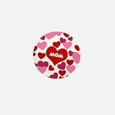 Love Mom Mini Button