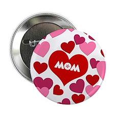 """Love Mom 2.25"""" Button"""