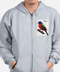 Painted Bunting Zip Hoody