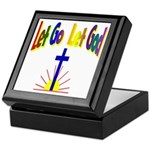 Let Go Let God Keepsake Box