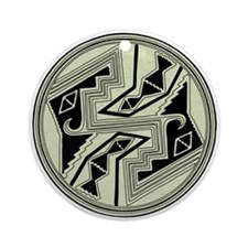 Mimbres Design 5 Ornament (Round)