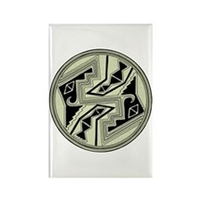 Mimbres Design 5 Rectangle Magnet