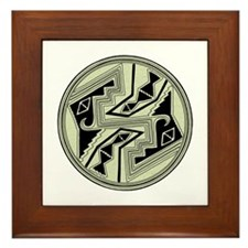 Mimbres Design 5 Framed Tile