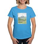 Lab Mountain Doodle Women's Dark T-Shirt