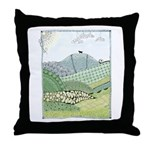 Lab Mountain Doodle Throw Pillow