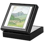 Lab Mountain Doodle Keepsake Box