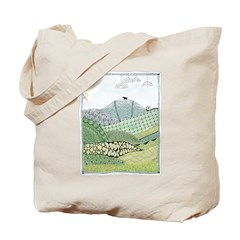 Lab Mountain Doodle Tote Bag