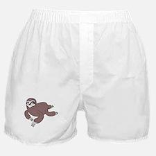 Sloth Crawl Boxer Shorts