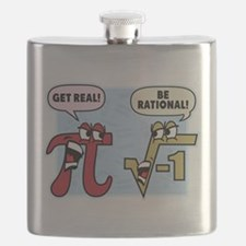 Get Real Be Rational Flask