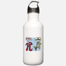 Get Real Be Rational Water Bottle