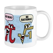 Get Real Be Rational Small Mug