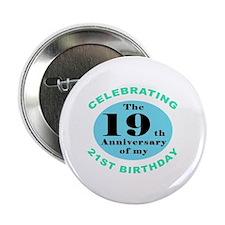 "40th Birthday Humor 2.25"" Button"
