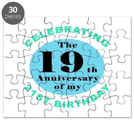 40th Birthday Humor Puzzle